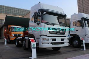 China SINOTRUK Euro II 6x4 Prime Mover Truck With HW79 Cabin / HW15710 TRANSMISSION on sale