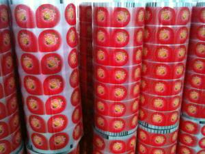 China PET printing  roll sealing film for seal jelly cups on sale