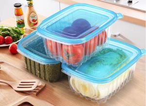 China 22X16.5cm Thicker PP Food Trays 2000ml For Snack Convenient To Take Out on sale