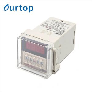 China Adjustable Timer Delay Relay 12V 24V 110V 220V 380V 2VA Consumed Power on sale