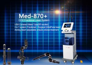 China Vertical RF Tube Fractional Co2 Laser Body Beauty Machine for Acne Scar Removal on sale