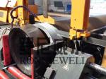High Speed Beveling Pipe Prefabrication Line Automatic With Band Saw