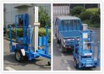 Trailer Mounted One Man Lift 8 Meter Hydraulic Aluminium Alloy With 136 kg Rated Load