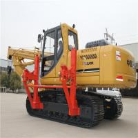 Hydraulic Tractor Pipe Layer , SHANTUI SP25Y 25T Crawler Pipelayer Equipment