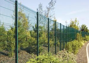China Pvc/Powder Coated Welded 2D Wire Fencing By wire diameter 4.0mm on sale