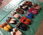 Export used ladies shoes, used shoes in bales exported ,Competitive price  used shoes