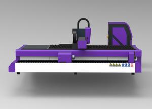 China 800W Fiber Laser Tube Cutting Machine High Precision With Fixed Working Table on sale