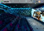 Large 4D Movie Theater Compatible To Dolby Sound System Imax System Technical Support