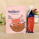 Ziplock Pet Food Packaging Bag Custom Printed 150 Microns Bottom Sealing 7mm