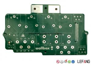 China 12 OZ Double Sided Heavy Copper PCB Circuit Board With Lead Free HASL 0.8 Mm Aperture on sale