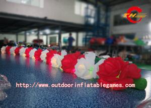 China Giant Retractable LED Inflatable Advertisings Lotus Flower For Wedding / Events on sale