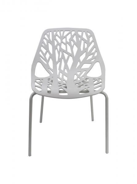 White Plastic Garden Chairs Outdoor , Driade Miss Lacy Chair Images