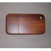 Sapelli Wood Cell Phone Back Cover With Straight Grain,Apple Iphone Case