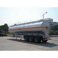 3x12T BPW axle 46000L Aluminum Alloy Petroleum Mobile Fuel Tank Trailer