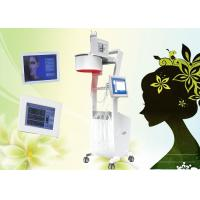 LED Laser Hair Growth Equipment / Laser Hair Loss Machine touch screen
