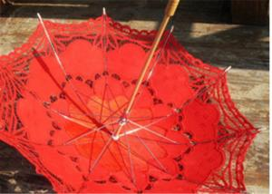 China Transparent lace printed wedding favors/gift umbrtella wedding parasol umbrella on sale