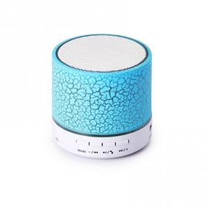 China Portable Mini coloful led bluetooth Speaker With Light pulse For mobile and computer Speaker With fm radio on sale