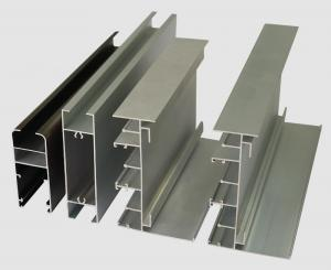 China 6063 Anodized Aluminum Profiles / Extrusion Sliding Windows And Doors Frame on sale