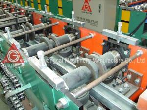 China CE 40Cr Hydraulic Steel Shutter Door Roll Forming Machine on sale