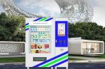 24/7 Self Service Medicine Vending Machine With Security Camera And Conveyor Vending System