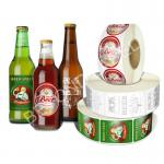 Waterproof Variety Drink Bottle Labels For Beverage , Fruit Juice , Beer