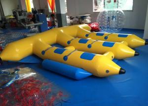 China Water Games Inflatable Fly Fishing Boats , Inflatable Banana Boat Towables on sale
