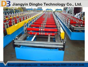 China PLC Control System Roof Sheet Making Machine Corrugated Iron Rolling Machine on sale