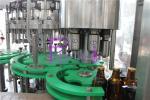 Equipo japonés de la botella de cerveza del PLC para el casquillo del anillo de tirón de la botella de cristal