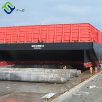 China Rubber bladder heavy lifting launching Marine Rubber Balloon on sale