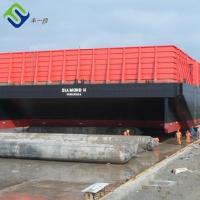 China Ship launching use marine rubber air bag marine airbag, ship launching airbags on sale
