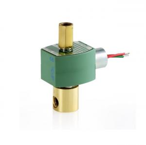 China 3 Way 24v Solenoid Valve Hydraulic Valve Accessories Brass Body Material on sale