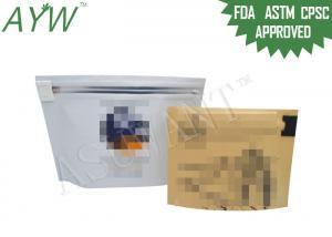 China Медицинская упаковка марихуаны в стойку Пластиковые сумки с верхней детской пробкой on sale