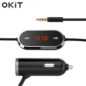 China car mp3 player usb fm transmitter for car radio adapter car kit on sale