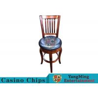 China American Style Retro Dining Chairs / Gaming Desk Chair For Poker Card Games on sale