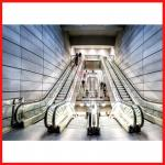 Automatic Induction Moving Walk Escalator Efficient For Large Passenger