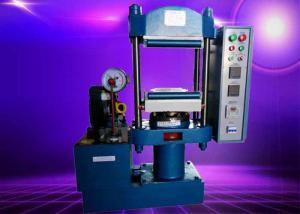 China Single Layer Flat Rubber Vulcanizing Machine 25T Plastic Test Tablet Press Machine on sale