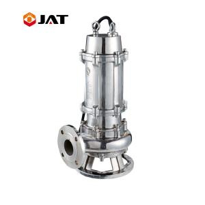 China Industry 316 stainless steel corrosion resistance and industrial acid Sewage pumping submersible sinking water pump supplier