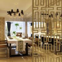 Modern design high quality stainless steel laser cut decorative room screens and partitions