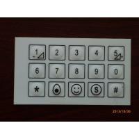 China Professional Keypad PCB Membrane Switch With 3M Adhesive / IPC Standard on sale