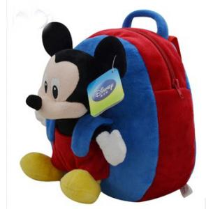 ... Quality Cute Soft Kids School Backpacks Disney Mickey Mouse School Bag  for sale