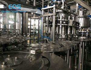 China ISO Certificated Pulp Juice Filling Machine ,SUS304 Hot Filling Machine 6000BPH on sale