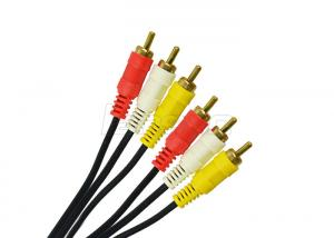 China Round Special Cables RCA Video Cable 2 RCA 3 RCA Cable 2R / 3R For CCTV Cameras on sale