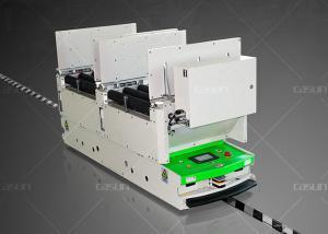 China Flexible Omni Directional Roller Conveyor AGV Smart Cart Auto Docking With Roller Platform on sale