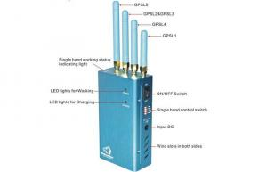 China Handheld Cell Phone Signal Jammer  on sale