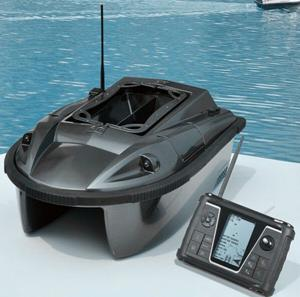 China JL01A Black Remote Control RC Fishing Baitboat Compass Bait boat on sale