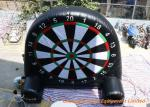 Giant Inflatable Football and Golf Dartboard with Velcro Balls