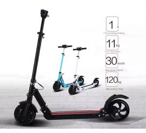 China Customized Kids Electric Scooter Mini Smart Scooter With Digital Panel / Display on sale