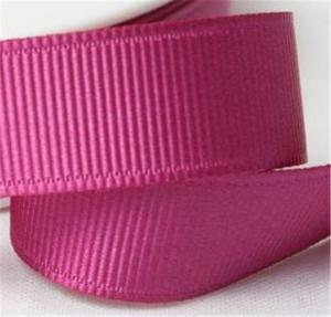 China Fancy 1 Inch Grosgrain Ribbon , High Durability Plain Grosgrain Ribbon on sale