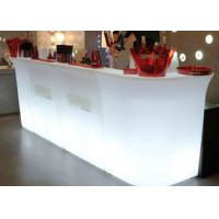 China Cocktail Bar Furniture / LED Bar Counter Nightclub Bar Counter Design on sale