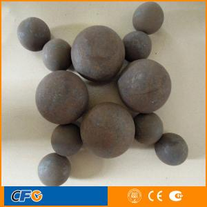 China 130mm casting balls for cement building material on sale